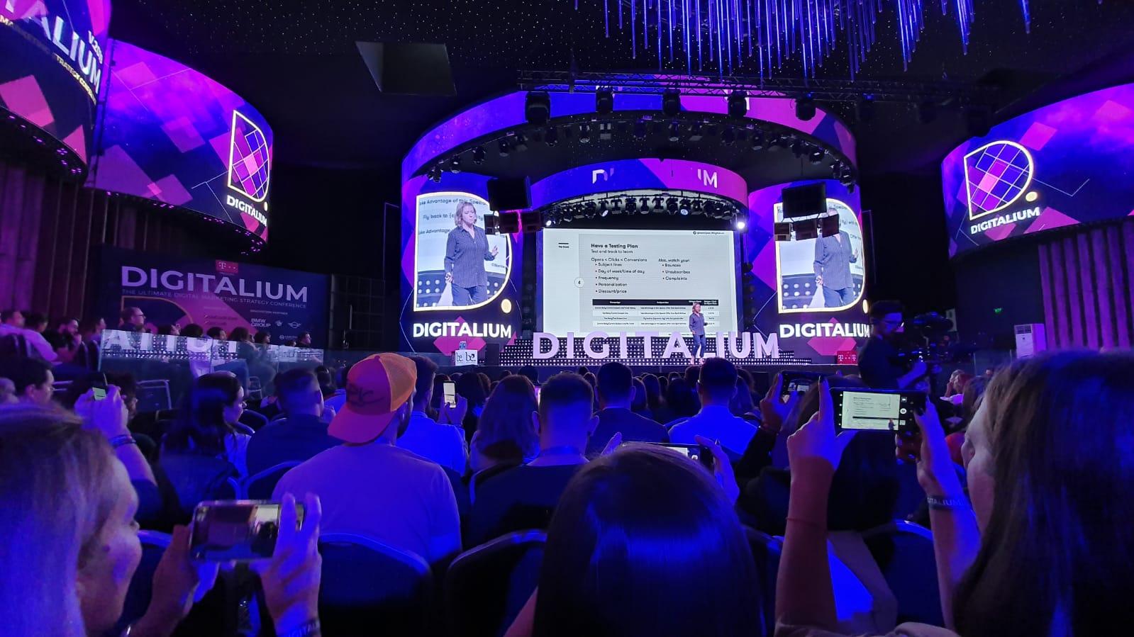 Jess speaks at Digitalium in Romania